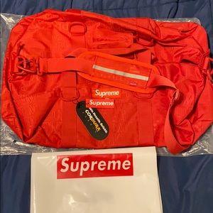 Supreme SS19 Duffle Bag Cordura